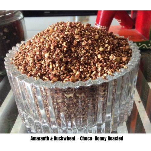 Chocolate Honey Roasted Cereal -Amaranth & Buckwheat