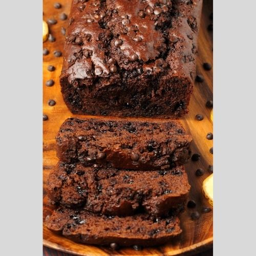Banana & Chocolate Tea cake (Small)