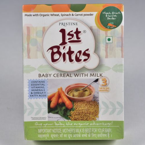 1st Bites - Wheat with Mixed vegetables (300 Gms)