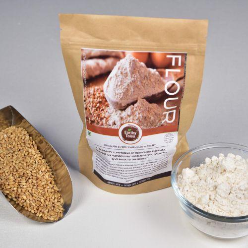 Kathiya (desi variety) Wheat atta (Hand milled)