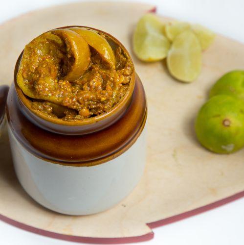 Lemon pickle ( Salty )