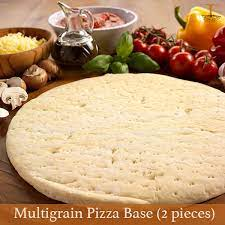 Multigrain Garlic Pizza Base (Pack of 4)