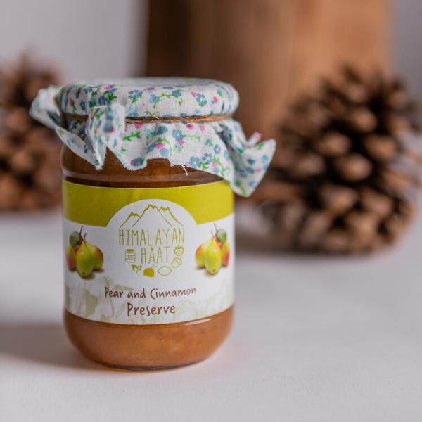 Pear & Cinnamon Preserve